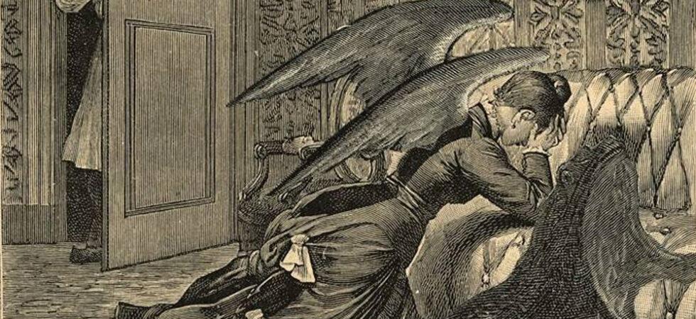 La Cour du Dragon - Max Ernst illustration for 'Une Semaine de Bonté' ou Les Sept Elements, Book III